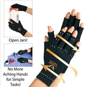 Wholesale Therapeutic Compression Copper Hands Arthritis Gloves Men Women Circulation Grip Ultra Light wrists fingers and hands protecter