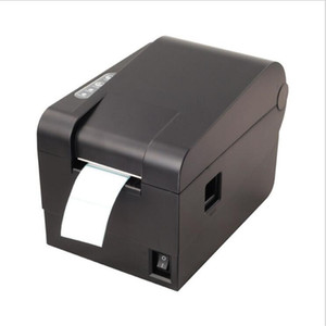 Wholesale stickers for print resale online - Thermal Label Printer mm Sticker Printing Machine with USB Serial Port for selling shipping receipt Print