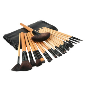 Wholesale makeup platte for sale - Group buy Beauty Essentials Cosmetics Makeup Brushes Set Face Concealer Contour Platte Pro Make up Brushes Cosmetic Puff bag