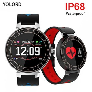 Wholesale YOLORD IP68 Waterproof Multi Running Walking Swimming Larger Battery Screen Sports Modes Tracker Band Smart Bracelet Wristband