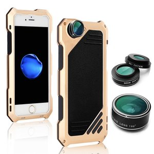 Wholesale For Iphone P P X Phone Case in High Definition Lens Protective Dust proof Water proof and Break proof Metal Mobile Phone Case