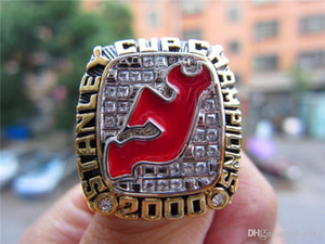 Wholesale Hot Drop Shipping New Jersey Devils Stanley Cup Championship Ring Fan Men Gift