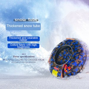 Wholesale 2018 winter sled skiing snow sled snowmobile snow toys Skid resistant wearable ski tube tire anti impact Skiboard