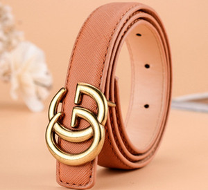 Wholesale 2019 New designer kids belt strap hight quality luxury fashion pu leather children belt boys girls pin buckle pants belts