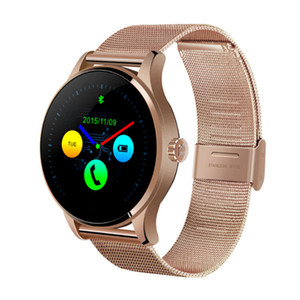 Wholesale K88H Smart Watch Inch IPS Round Screen Support Sport Heart Rate Monitor Bluetooth SmartWatch For IOS Android Hot Sale