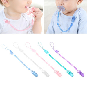 Wholesale Baby Infant Toddler Dummy Pacifier Spring Soother Nipple Clip Chain Holder Strap oem hot sale new