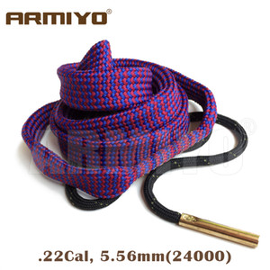 Wholesale armiyo for sale - Group buy Armiyo Bore Snake Cal mm Pistol Cleaning Kit Rope Brush Gun Barrel Cleaner Hunting Shooting Accessories