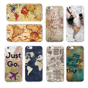 World Map Travel Just Go Soft Clear Phone Case Cover For iPhone 5 6 7 7Plus 8 8Plus X XS Max Fundas Cover