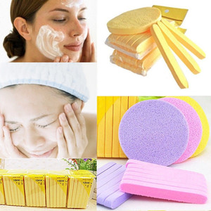 Facial Cleansing Sponge Puff Compressed Sponge Travel Makeup Facial Washing Stick Beauty Cosmetic Tools Accessories J1729