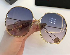 Wholesale 0362S Gold Blue Shaded Sunglasses Sonnenbrille unisex Luxury Designer Sunglasses Glasses Shades New with box