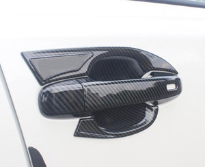 Wholesale door guards for sale - Group buy High quality car door handle decoraitve cover Guard cover door handle bow decoration cover guard cover for TOYOTA CHR C HR