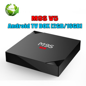 Wholesale Exclusive TV Box M9S V5 K Android GB GB RK3229 Quad Core With D Ultra HD HDMI Wifi K Streaming Boxes Better TX3 Mini S905W