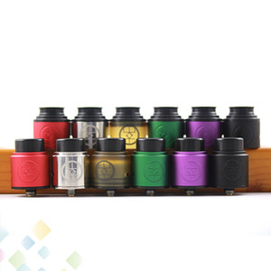 Wholesale gold dripper for sale - Group buy Original Advken Breath RDA mm Rebuildable Dripper Atomizer Gold Plated Botton Feed Pin Fit Mods Ecig DHL Free