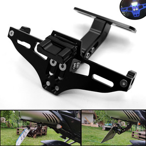 Wholesale For Moto License plate Bracket License Plate Holder Frame Number Plate For yamaha YZF R1 R6 Tmax tma530