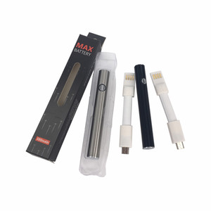 Wholesale Hot AMIGO vape preheat battery for liberty tank max slim vape pen battery variable voltage with Bottom micro Charge USB cable