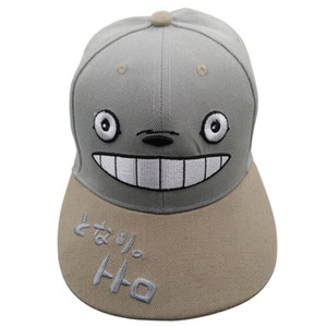 My Neighbor Totoro Anime Adjustable Outdoor Cap Casual Hip-hop Hat Snapback Cartoon Cap for Men Women