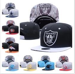 Top Sale 2018 new Football Snapbacks Cheap Sports Team Caps High Quality Snap Backs Girls and Boys Hats Most Popular Team Flat Hats
