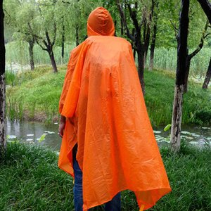 Wholesale Rain cape Poncho with Rain Cover Backpack Outdoor Raincoat Travel Multifunctional Climbing Cycling Tent Mat Awning