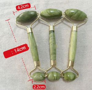Wholesale In stock Natural Facial Massage Jade Roller Face Thin Massager Lose weight Beauty Care Roller Tool