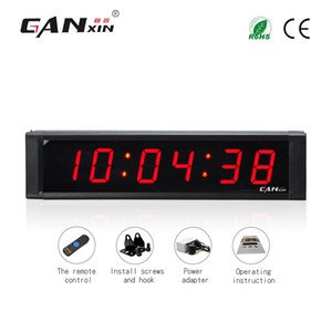 [Ganxin]freeshipping 1inch 6 Digit Led Countdown Timer Stopwatch HH:MM:SS Countdown up Clock with Remote Control desk clock
