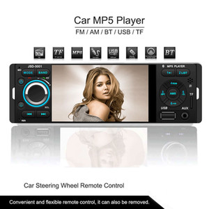4.1 Inch TFT 1080P Touchscreen In-dash Radio, Bluetooth, MP3 MP4 MP5 USB SD AM FM Car Stereo Support USB Input Wireless Remote Control