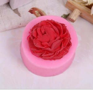 New Home 3D Rose Chocolate Mold,Fondant Cake Decorating Tools,Silicone Soap Mold,Silicone Cake Mold