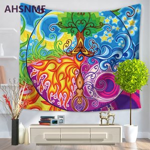 Wholesale AHSNME home decor tapestry India Bohemia printing tapestry beach towel multi functional blanket TV blanket Home textiles