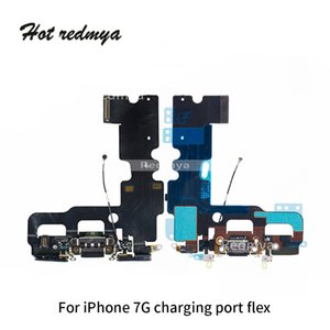 Wholesale Original Charging Port Flex For iphone G Charger Data USB Dock Connector with Headphone Audio Jack Mic Antenna Antena wifi Cable