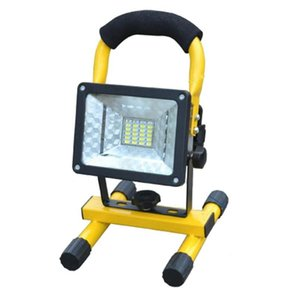 Wholesale Portable 24 LED 3 Models 30W Rechargeable Floodlight Spotlights Outdoor Work LED Light Searchlight IP65 Emergency Light