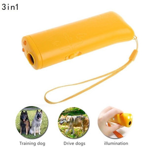 Wholesale Ultrasonic Aggressive LED Dog Repeller Trainer Pet Anti Barking Device Stop Aid Training Flashlight