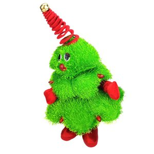 Wholesale Plush Animated Stuffed Animal Toy Singing Dancing Light Up Figure Singing Dancing Christmas Tree