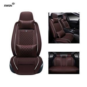 Wholesale XWSN Special leather car seat cover for Hyundai solaris ix35 30 25 Elantra MISTRA Grand Santafe accent Veloster coupe car accessories