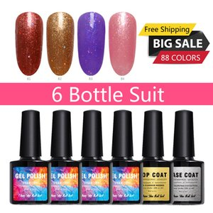 6pc Suit Gel Nail 8ml Gel Nail Polish Color Painting 88 Polish DIY Art Colored Glaze Colored Lacquer Varnish
