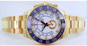 Wholesale Luxury Wristwatch Supplier YachtMaster GMT White Dial Stainless Steel Automatic Mens Men s Watch Watches