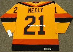 Wholesale Wholesale Mens CAM NEELY Vancouver Canucks 1985 CCM Vintage Home Cheap Retro Hockey Jersey