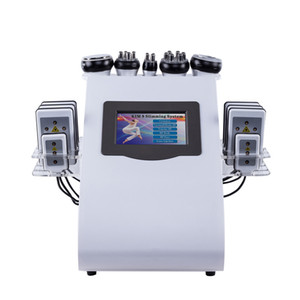 40khz 6 In 1 Ultrasonic Cavitation Vacuum Radio Frequency Lipo Laser Slimming weight loss beauty Machine for Spa