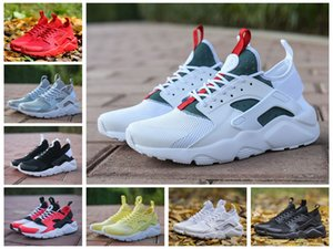 Wholesale 2019 New Air Huarache IV Ultra Running Shoes For Men Women All Red Huraches Huaraches Mens Trainers Hurache Sports Sneakers Size
