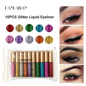 Wholesale Liquid Eyeshadow Long Lasting Waterproof Liquid Glitter Eyeliner Pencils colors Shining Shimmer Eye Liner Makeup eyeliner liquid shadow
