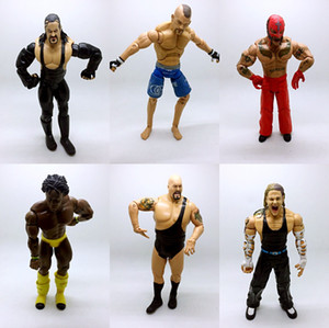 Wholesale Hotsale Occupation Wrestling Gladiators Movable Multi Joint Model Dolls Wrestler Action Figure toys