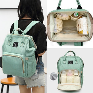 Mama Korean multifunctional mother baby package big capacity Bao MA Fashion Travel Backpack on Sale