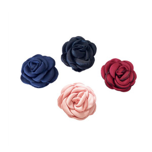 Hand sewing ribbon flower Dia. 5.5cm DIY crafts headbands dress clothing sewing decorative accessories DL_RB020