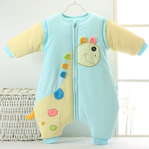 Wholesale Newborn Infant Baby Sleeping Bag Autumn Winter Cent Leg Removable Sleeve Swaddle Wrap Baby Wear Blanket Sleepsacks Thick And Thin Styles