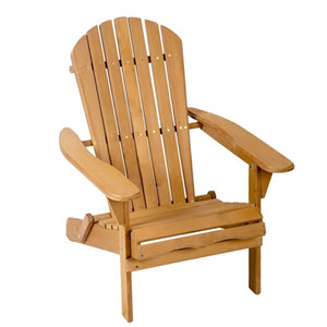 Wholesale New Outdoor Wood Adirondack Chair Garden Furniture Lawn Patio Deck Seat