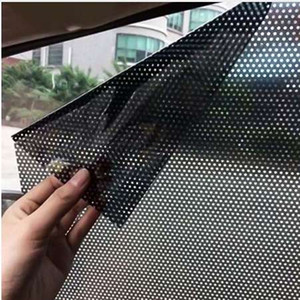2Pcs Lot Car Styling Window Foils Sticker Car Sunshade Auto Vehicle Sun Block Sun-shading Electrostatic Stickers