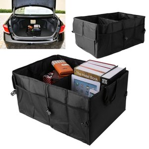 Wholesale Portable Folding groceries Toy Organizer bag Car Back Up Storage Box Trunk Bag Container Vehicles Tool Home Office Oxford cloth