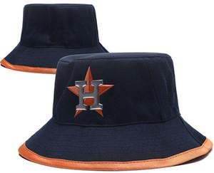 Fashion fishman bucket Houston cap H Foldable Fishing Hat polo Bucket cap Good Beach Sun Visor Sale Folding Man Bowler Cap 02
