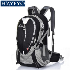Wholesale HZYEYO L Climbing Backpack Rucksack Cycling Backpack Unisex Outdoor Sports Bag Waterproof Backpack with Rain Cover for Travel