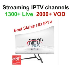 1year Neotv PRO 1300 Channels QHDTV IPTV Europe Arabic French Germany IPTV subscription code LiveTV for M3U MAG254 Android Smart TV