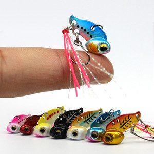Wholesale Mini vib Fishing Lure Lead Copper Metal Lures Spinner Spoons Hard Bait g g Artificial Freshwater Saltwater Baits Bass