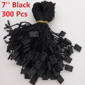 Wholesale 7 quot Garment Hang Tag String Black Pieces Black Hang Tag Nylon Cord For Price